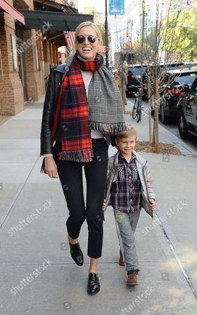 Editorial image of Karolina Kurkova out and about, New York, America - 05 Nov 2014
