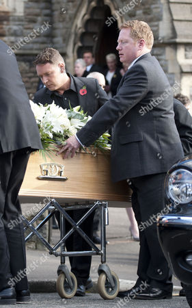 Editorial picture of Funeral of Alvin Stardust held at St Thomas Church, Swansea, Wales, Britain - 05 Nov 2014