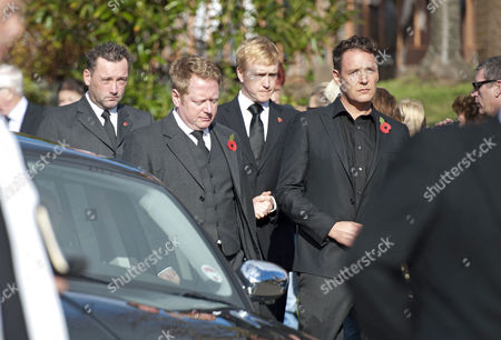 Editorial photo of Funeral of Alvin Stardust held at St Thomas Church, Swansea, Wales, Britain - 05 Nov 2014