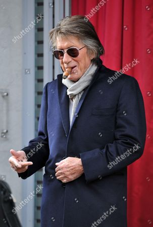 Editorial photo of Jacques Dutronc in Paris, France - 05 Nov 2014