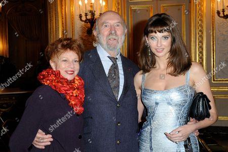 Agathe Natanson, Jean-Pierre Marielle and Frederique Bel