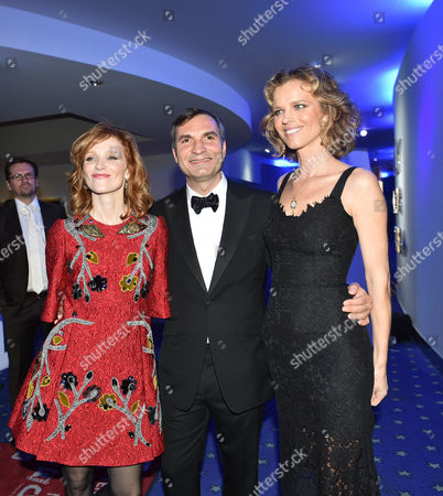 Anna Geislerova, Jiri Machacek and Eva Herzigova