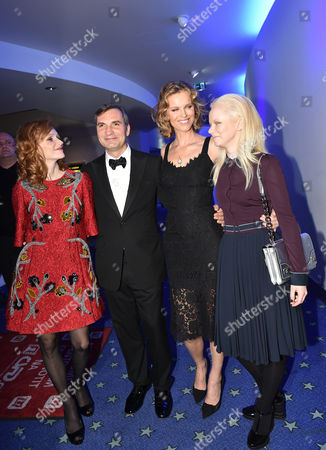Stock Photo of Anna Geislerova, Jiri Machacek, Eva Herzigova and Anna Linhartova