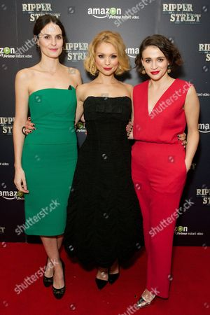 Leanne Best, MyAnna Buring and Charlene McKenna