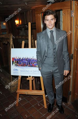 Editorial picture of Skiing with Heroes Junior Committee Awareness Party, Bodos Schloss, London, Britain - 06 Nov 2014