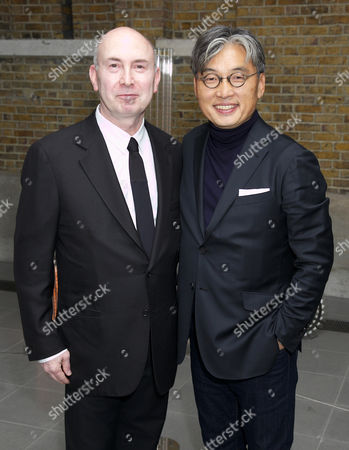 Stock Picture of Murray Moss and David Chu