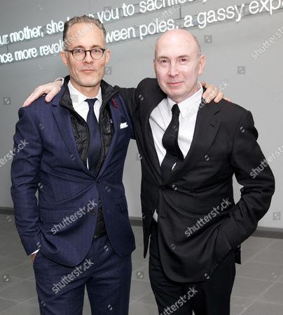 Robert Wolf and Murray Moss