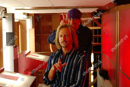 David Spade and Leif Garrett