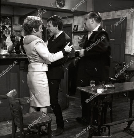 Rita Littlewood [Barbara Mullaney] later known as Barbara Knox and Dennis Tanner [Philip Lowrie].