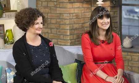 Editorial image of 'This Morning' TV programme, London, Britain - 07 Nov 2014