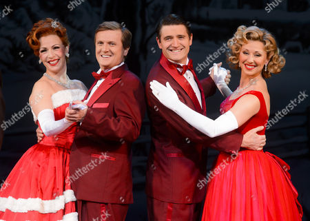 Rachel Stanley, Aled Jones, Tom Chambers and Louise Bowden