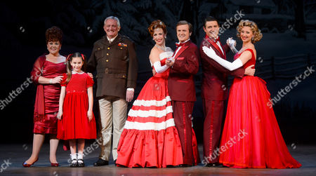 Wendi Peters, Graham Cole, Rachel Stanley, Aled Jones, Tom Chambers and Louise Bowden