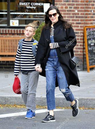 Liv Tyler with son Milo Langdon