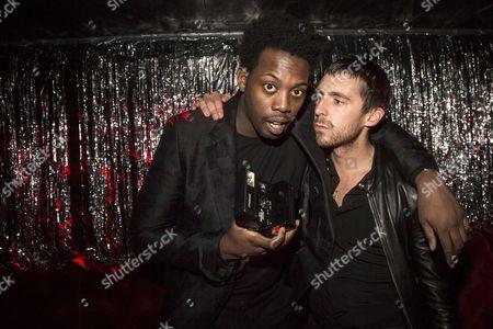 Adrien Sauvage and Miles Kane