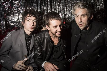 Guest, Miles Kane and George Lamb