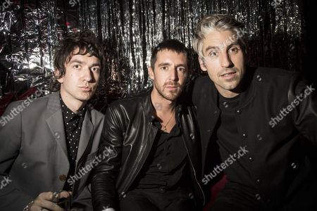Guest, Miles Kane and Goerge Lamb