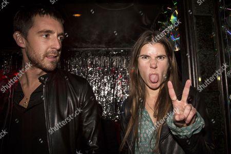 Miles Kane and his friend Lauren