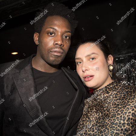Adrien Sauvage and his girlfriend Annabel Cousins