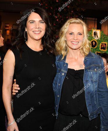 Lauren Graham and Monica Potter