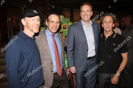 Ron Howard, Jason Katims, Bob Greenblatt and Brian Grazer