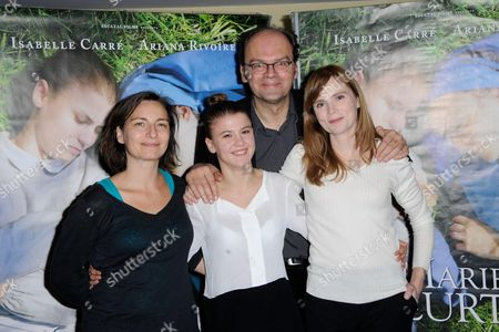 Noemie Churlet, Ariana Rivoire, Jean Pierre Ameris and Isabelle Carre