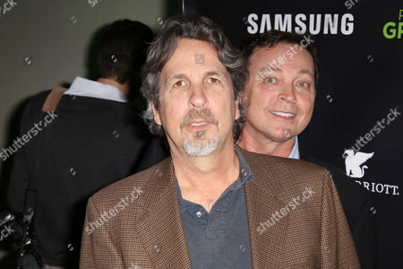 Stock Picture of Peter Farrelly and Bobby Farrell (R)