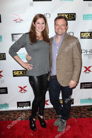 Editorial photo of 'Sex Ed' film premiere, New York, America - 07 Nov 2014