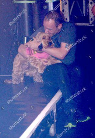 Jeremy Joseph and pet Dog