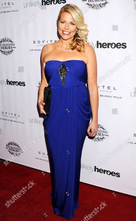 Editorial picture of 'Unlikely Heroes' gala dinner, Los Angeles, America - 08 Nov 2014