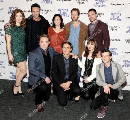 Stock Image of Jessy Hodges, Reid Scott, Britt Lower, Ryan Eggold, Bret Dalton, Chris Lowell, Beck Bennett, Erin Darke, Will Brill