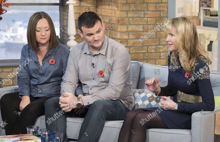 Phillip Schofield and Amanda Holden with Rebecca and Paul Morris Jackson with Dr. Pam Spurr
