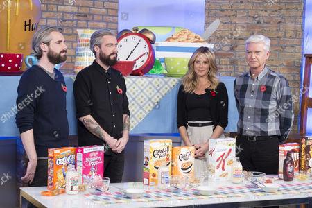 Editorial photo of 'This Morning' TV Programme, London, Britain. - 10 Nov 2014
