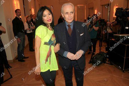 Vanessa Mae and Jose Carreras