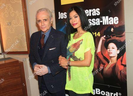 Jose Carreras and Vanessa Mae
