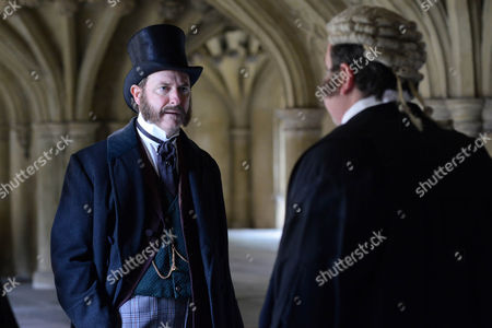 Stock Image of Risteard Cooper as Sir Hanry.