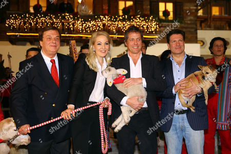 Stock Picture of Michael Aufhauser, Kathrin Glock, Hugh Grant and Francis Fulton-Smith