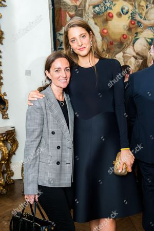 Daniela Agnelli and Anna de Pahlen