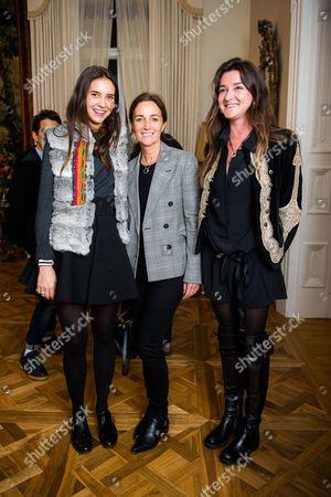 Viola Arrivabene Valenti Gonzaga, Daniela Agnelli, Ortensia Visconti