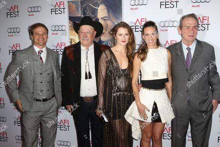 Editorial image of 'The Homesman' film premiere, AFI Festival, Los Angeles, America - 11 Nov 2014