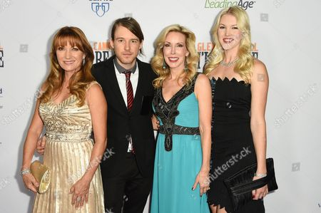 Jane Seymour, Cal Campbell, Kim Campbell, Ashley Campbell