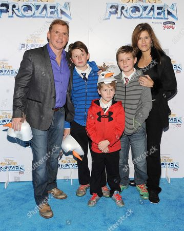 Stock Image of Tom Cotter and family