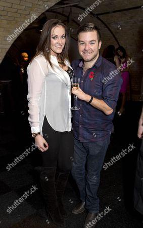 Rachael Latham and Alex Brooker