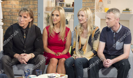 Nik and Eva Speakman with Zara Ashton and Ian Andreassen