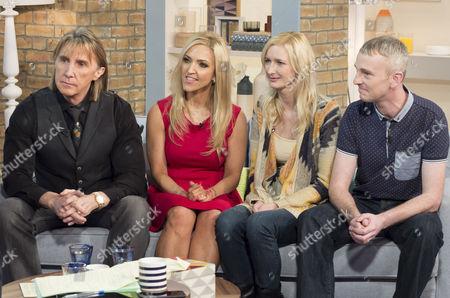 Stock Image of Nik and Eva Speakman with Zara Ashton and Ian Andreassen