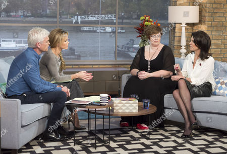 Phillip Schofield and Amanda Holden with Claire Tickle and Dr Dawn Harper