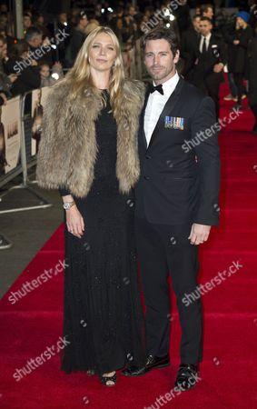 Jodie Kidd and David Blakeley