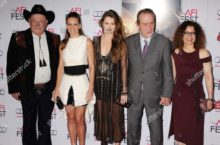 Barry Corbin ; Hilary Swank ; Grace Gummer ; Tommy Lee Jones ; Dawn Laurel-Jones