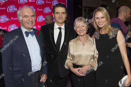 Stock Image of Stuart Chambers, Tom Chambers (Phil Davis), Rosemary Chambers and Clare Harding
