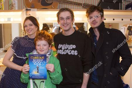 Sophie Ellis-Bextor, Sonny Jones, Graham Butler (Christopher Boone) and Richard Jones