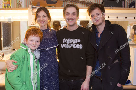 Sonny Jones, Sophie Ellis-Bextor, Graham Butler (Christopher Boone) and Richard Jones